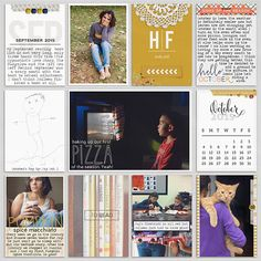 * October 2015 - Project Pages *