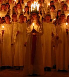 Saint Lucia Day - Sweden