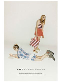 Alice Dellal & Erik Andersson for Marc by Marc Jacobs SS12
