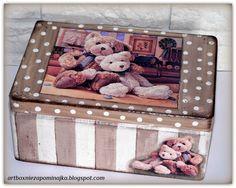 skrzynka dla dziecka, Teddy bear, mis Teddy