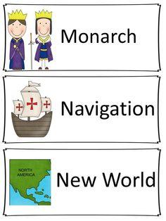 Word Wall: Explorers