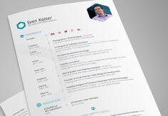 28 Free CV Resume Templates ( HTML PSD & InDesign )
