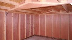 Mr M – Chesterton, Oxon – 12ft x 20ft Single Timber Feather Edge Garage, Internal Photo 2