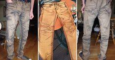 Komiksowe portki - Joe Monster