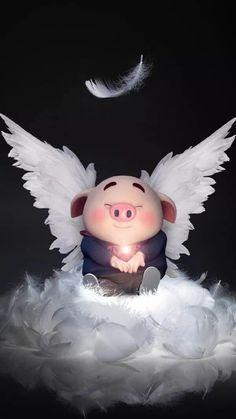 New Wallpaper Celular Fofo Ideas Pig Wallpaper, Cute Disney Wallpaper, Cute Cartoon Wallpapers, Cute Piglets, 3d Art, Pig Illustration, Baby Pigs, Little Pigs, Belle Photo