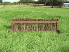 Brush Fence Filler- light weight and easy to move yourself