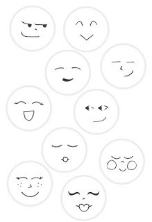 Dotee Faces - - Found this page in one of my older sketchbooks of DoteeDoll faces. Feel free to use these to embroider your own Dotee faces! Wood Peg Dolls, Clothespin Dolls, Doll Eyes, Doll Face, Doll Crafts, Diy Doll, Paper Dolls, Art Dolls, Dolls Dolls