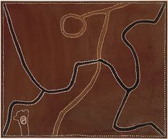 "abstrakshun: "" Rover Thomas Joolama (Australian, b.circa 1926 - Ruby Plains killing 2 - 1990 @ National Gallery of Australia "" Aboriginal Artwork, Aboriginal Artists, Indigenous Australian Art, Indigenous Art, Sacred Art, Dot Painting, Religious Art, Abstract Canvas, Abstract Pattern"