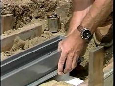How to Install a Channel Drain for the DIY Project: Yard Drainage Solutions Backyard Drainage, Backyard Landscaping, Drainage Solutions, Drainage Ideas, Water Solutions, Outdoor Projects, Diy Projects, Drainage Channel, French Drain