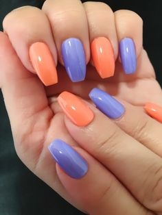 Purple/Lavender Nail Polish, Nail Lacquer, 10 Free Polish, Cruelty Free and Vegan Nail Polish : LOVE my Lavender Bright Summer Acrylic Nails, Summer Gel Nails, Bright Nails, Best Acrylic Nails, Yellow Nails, Periwinkle Nails, Spring Nails, Lavender Nail Polish, Lavender Nails