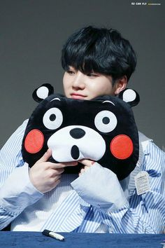 Suga is the Type of a Boyfriend ? - Kumamon - Wattpad Read Kumamon from the story ?Suga is the Type of a Boyfriend ? Bts Suga, Min Yoongi Bts, Bts Bangtan Boy, Bts Boys, Jhope, Namjoon, Taehyung, Seokjin, Foto Bts