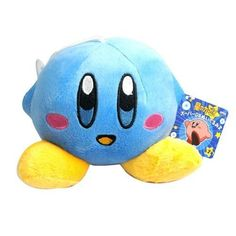 """Generic BANPRESTO KIRBY 4.2"""" Smile Soft Plush Stuffed Toy BL Color Multi by LuckyCouple, http://www.amazon.co.uk/dp/B00DUSN61Y/ref=cm_sw_r_pi_dp_BSrssb146FR5Q"""