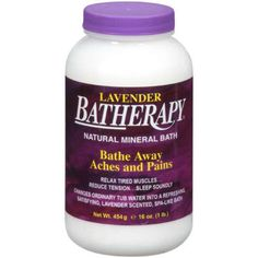 I'm learning all about BATHerapy Bath Salts at @Influenster!