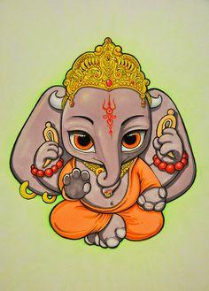 Niedliche Ganesha-Elefant                                                                                                                                                      Más