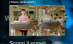 Mettici la faccia / il tapis roulant  #VIDEO #GYM #FITNESS #SPORT #LIFESTYLE #FUNNY #SMILE Video, Sport, Lifestyle, Funny, Fitness, Furniture, Home Decor, Running Belt, Deporte