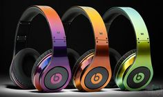 Stunning Colorware Collection Illusion Beats by Dr Dre Headphone