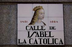 Calle de Isabel La Católica ( Madrid )
