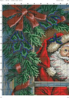 Santa is coming Home 3/6 [Pattern / Chart] [Christmas - Cross Stitch]
