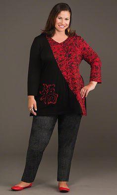 Mika Tunic / MiB Plus Size Fashion for Women / Fall Fashion http://www.makingitbig.com/product/4940