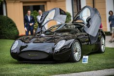 FAB WHEELS DIGEST (F.W.D.): 2015 Maserati Mostro Zagato Coupe Pebble Beach, Sport Cars, Race Cars, 2015 Maserati, Villa, Le Mans, Vintage Cars, Automobile, Racing