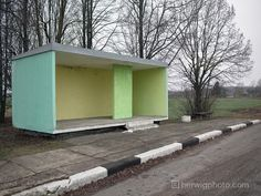 Meet the Guy with the World's Largest Collection of Soviet Bus Stop Photos   VICE United Kingdom