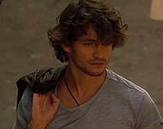 """Hugh Dancy being casually drop-dead gorgeous in """"Blood and Chocolate"""". Bonus: """""""