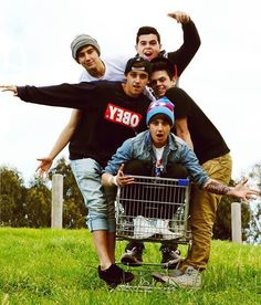 I love watching the Janoskians. They are hilarious.