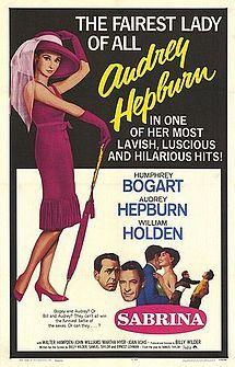 Sabrina (1954) - Audrey Hepburn #modeetcinema #placevillemarie
