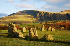 castlerigg stone circle - believed to be older than stonehenge