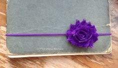 PURPLE BABY Headbands Baby Headband Infant by LilPinkGoose on Etsy, $2.95