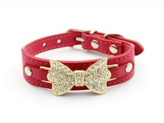 Enjoying Velvet Rhinestone Dog Necklace Bling Dog Collars -- You can find out more details at the link of the image. (This is an affiliate link and I receive a commission for the sales)
