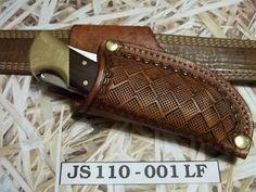 Custom leather knife Sheath JS110-001LF by JSLeatherworks on Etsy