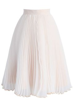 Favor of Pleats Organza Midi Skirt - New Arrivals - Retro, Indie and Unique Fashion