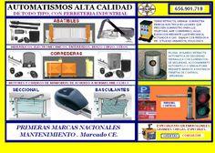 AUTOMATISMOS PUERTAS DE GARAJE en MADRID