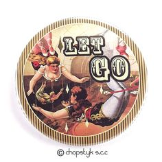 Items similar to 3 inch Magnet: Let Go on Etsy Counter Display, Letting Go, I Shop, Magnets, Decorative Plates, Let It Be, Graphic Design, Abstract, Fun