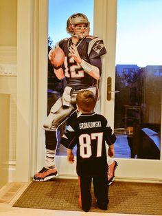 All hail Tom #Brady #Patriots #LilPatsFans