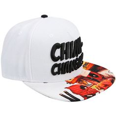 Marvel Deadpool Chimichanga Sublimated Bill Snapback Hat Hot Topic ❤ liked on Polyvore featuring accessories, hats, embroidered hats, snapback hats, pattern hats, print snapback and embroidered snapback hats