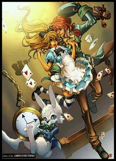 Anime - Alice in Wonderland - MTG - Sleeves