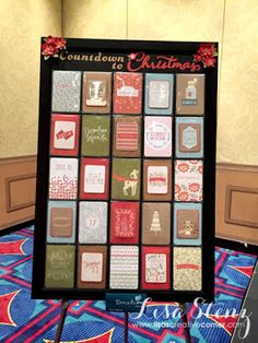 Lisa's Creative Corner: Countdown to Christmas Advent Calendar