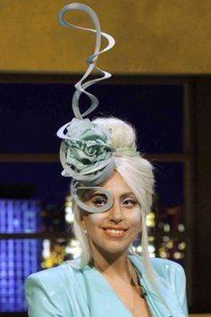 Lady Gaga's fabulous hats