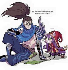 LoL - Yasuo and Lulu