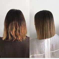 Are you going to balayage hair for the first time and know nothing about this technique? We've gathered everything you need to know about balayage, check! Straight Brunette Hair, Straight Black Hair, Very Short Hair, Short Hair Cuts, Short Hair Styles, Brown Ombre Hair, Looks Chic, Short Bob Hairstyles, Hairstyles 2018