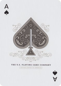 The Ace of Spades from Sentinels Playing Cards