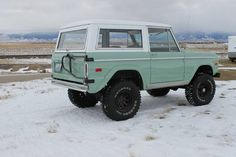 Ford Cars and Trucks for sale Classic Bronco, Ford Classic Cars, Classic Chevy Trucks, Chevy Classic, Classic Ford Broncos, Subaru, Offroad, Jeep Pickup, Pickup Camper