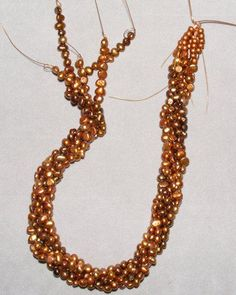 awesome DIY Bijoux - Beaded Torsade Necklace instructions (how to do a  twist)   #Beading #Jewelry #T...