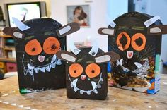 Gruffalo party bag and activity? Gruffalo Activities, Gruffalo Party, The Gruffalo, Literacy Activities, Activities For Kids, Preschool Crafts, Diy Crafts For Kids, School Projects, Projects To Try