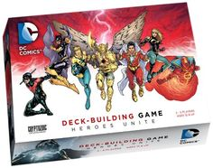 DC Comics DeckBuilding Game Heroes Unite ** Click on the image for additional details. Note:It is Affiliate Link to Amazon.