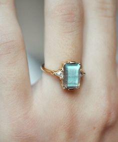 Anna Sheffield Labradorite Bea Ring