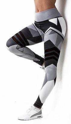 befc7902e84 2018-Women Leggings High Elastic Leggings Printing Women Fitness Legging  Push Up Pants Clothing Sporting Leggings