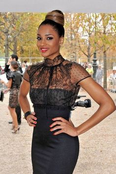 Black Fashion Designers In Chicago Street Fashion Black Lace